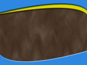 Worship Background for MediaShout or Powerpoint Dark Wood Grain Blue and Yellow Header and Footer  4:3 Ratio